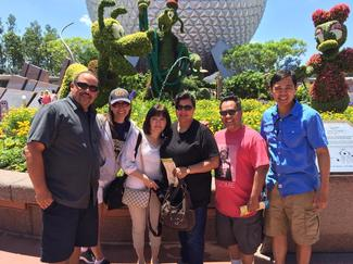 Booster Parents at DisneyWorld 2015!