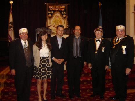 Scottish Rite Scholarship Ceremony